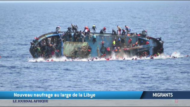 Migrants : un naufrage en direct au large de la Libye