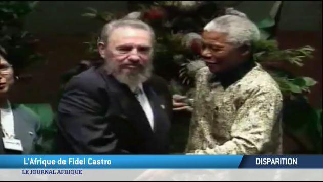 Disparition : L'Afrique de Fidel Castro