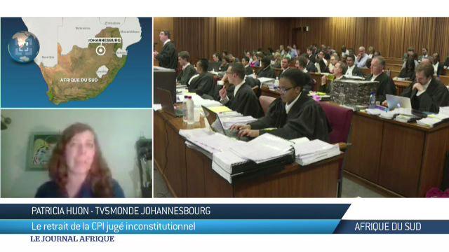 CPI : le retrait de l'Afrique du Sud de la CPI, inconstitutionnel
