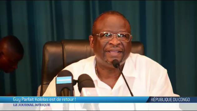 RDC : Guy Parfait Kolelas est de retour dans son pays
