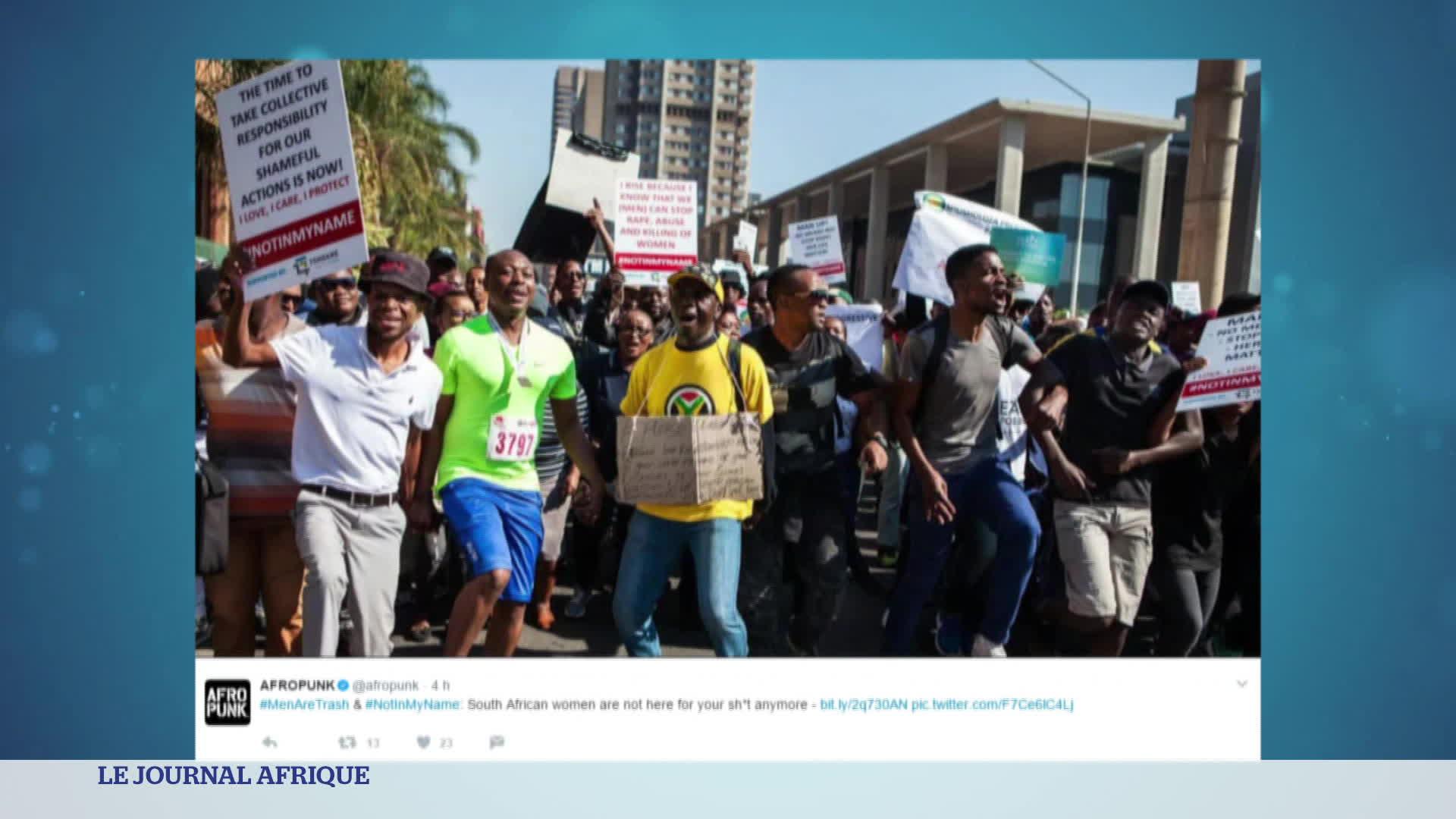 L'Afrique du sud : le pays bat un triste record...
