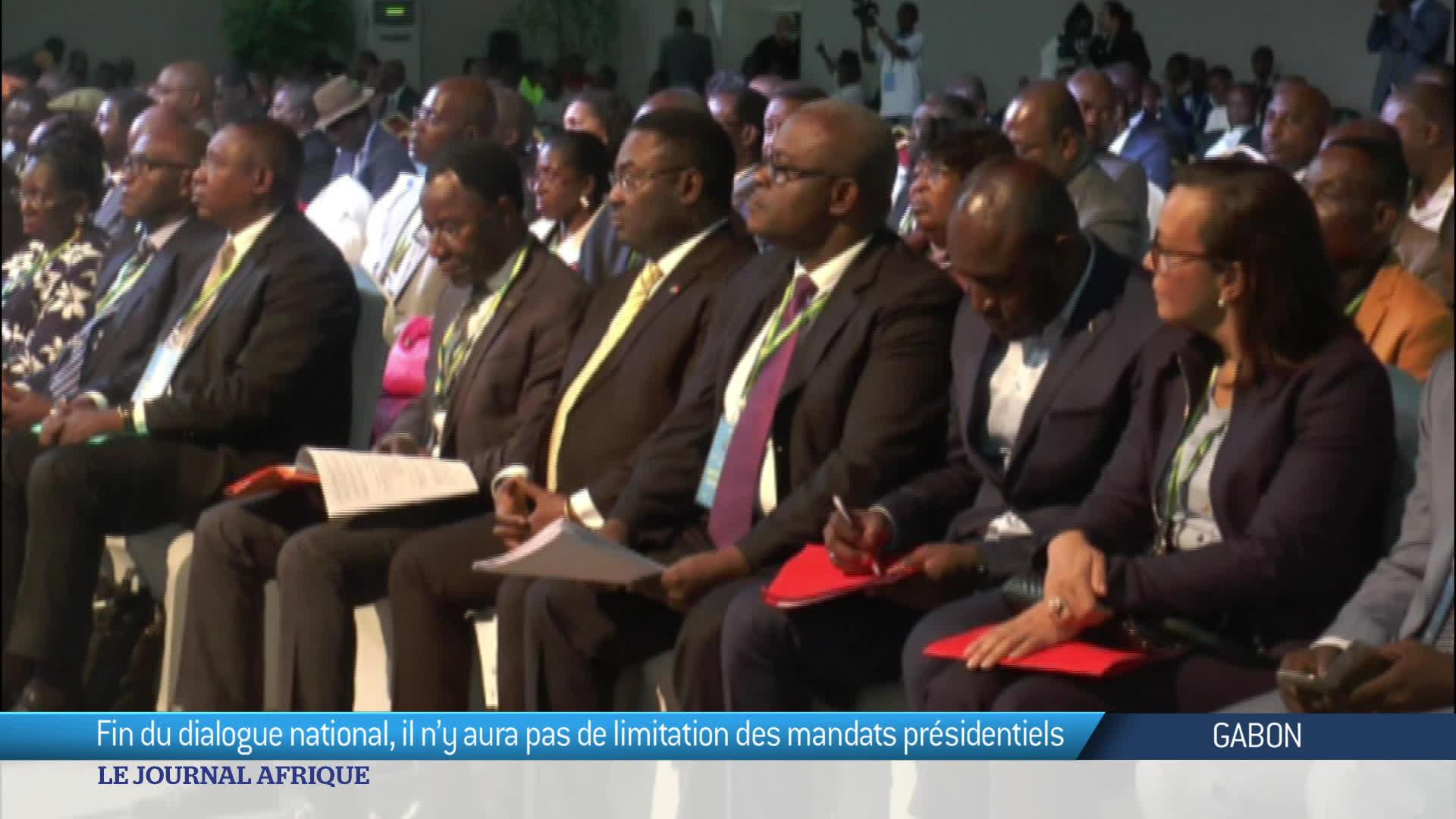 Fin du dialogue national au Gabon