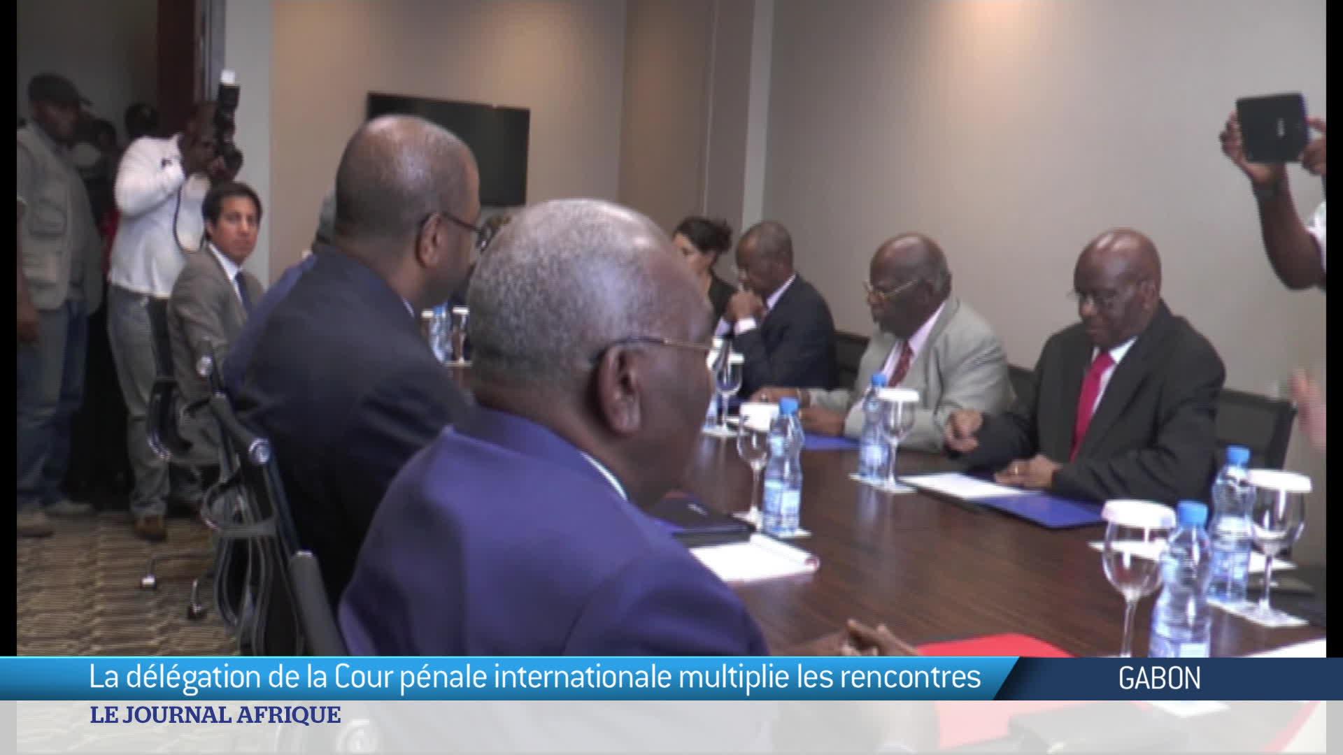 Gabon les experts de la CPI sont au travail