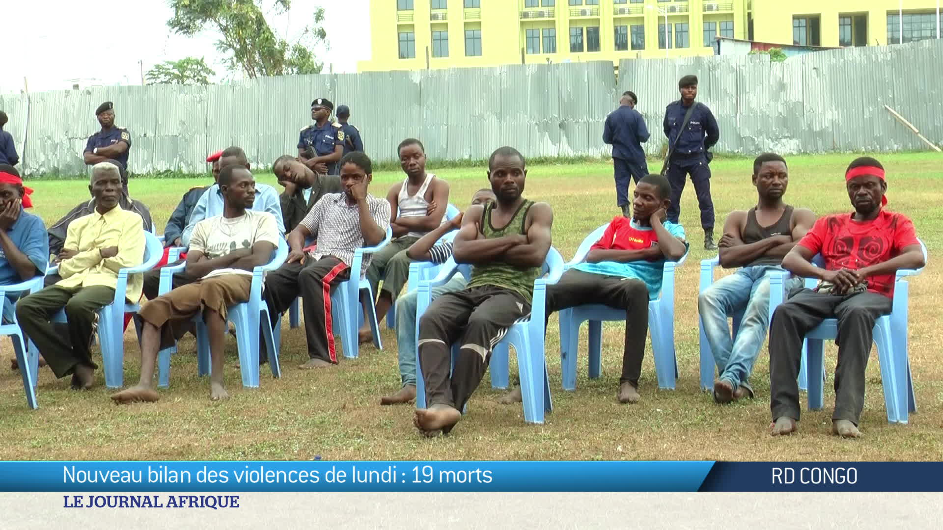 RD Congo : nouveau bilan des violences de lundi, 19 morts