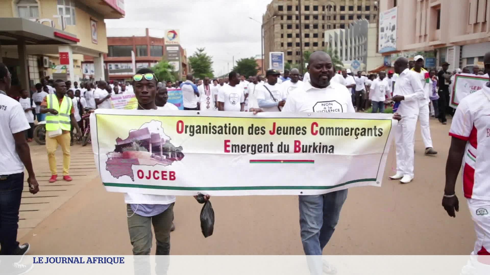 Burkina Faso : marche silencieuse contre la barbarie terroriste