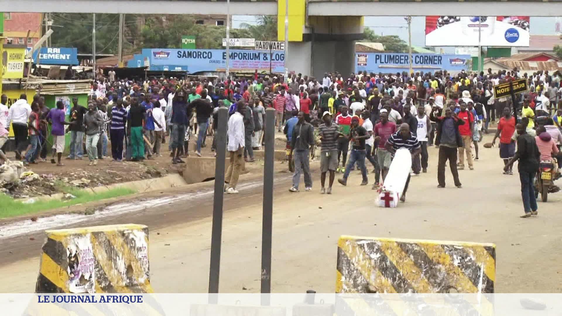Tension accrue au Kenya