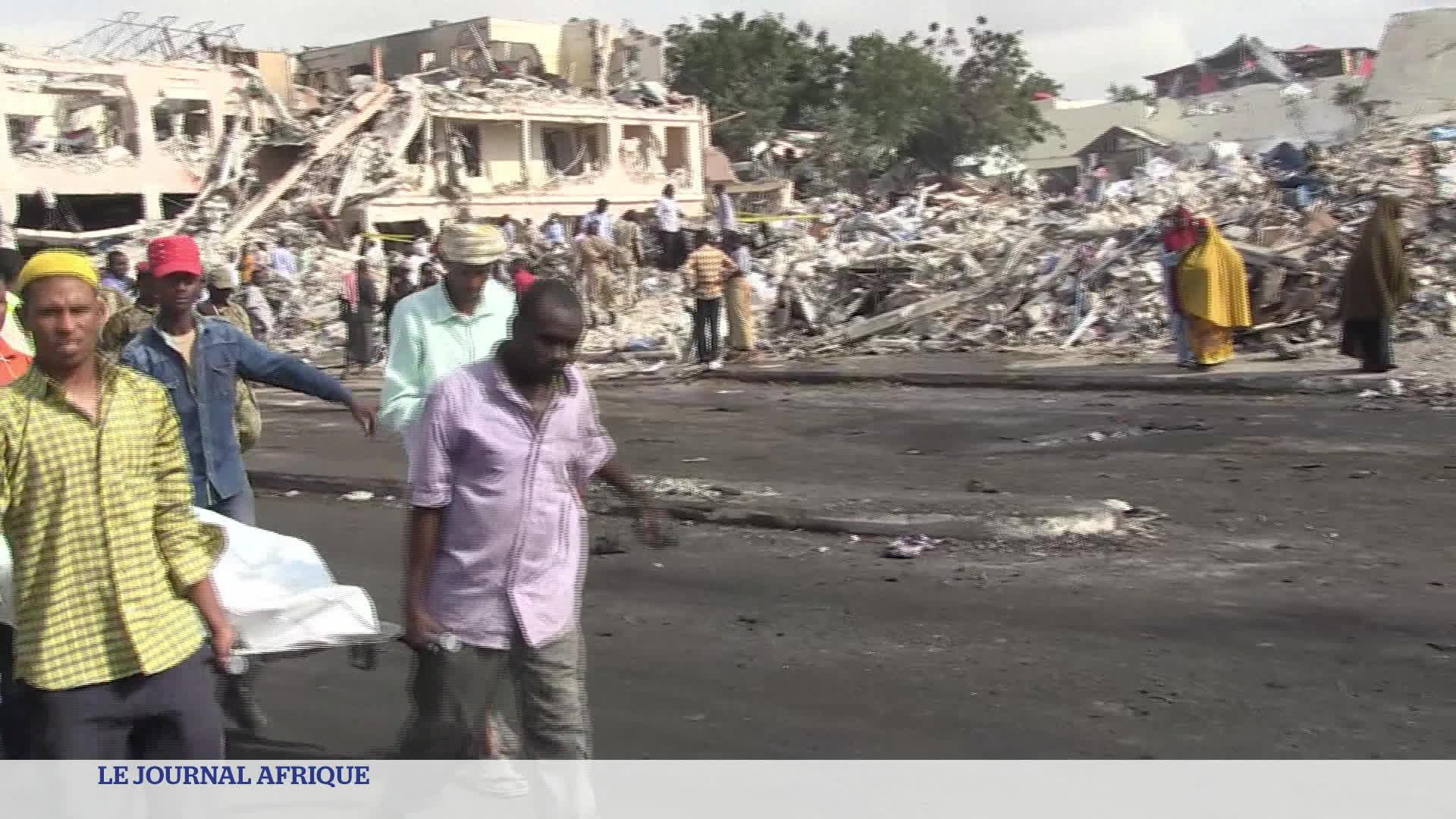 Le terrible attentat de Mogadiscio en Somalie