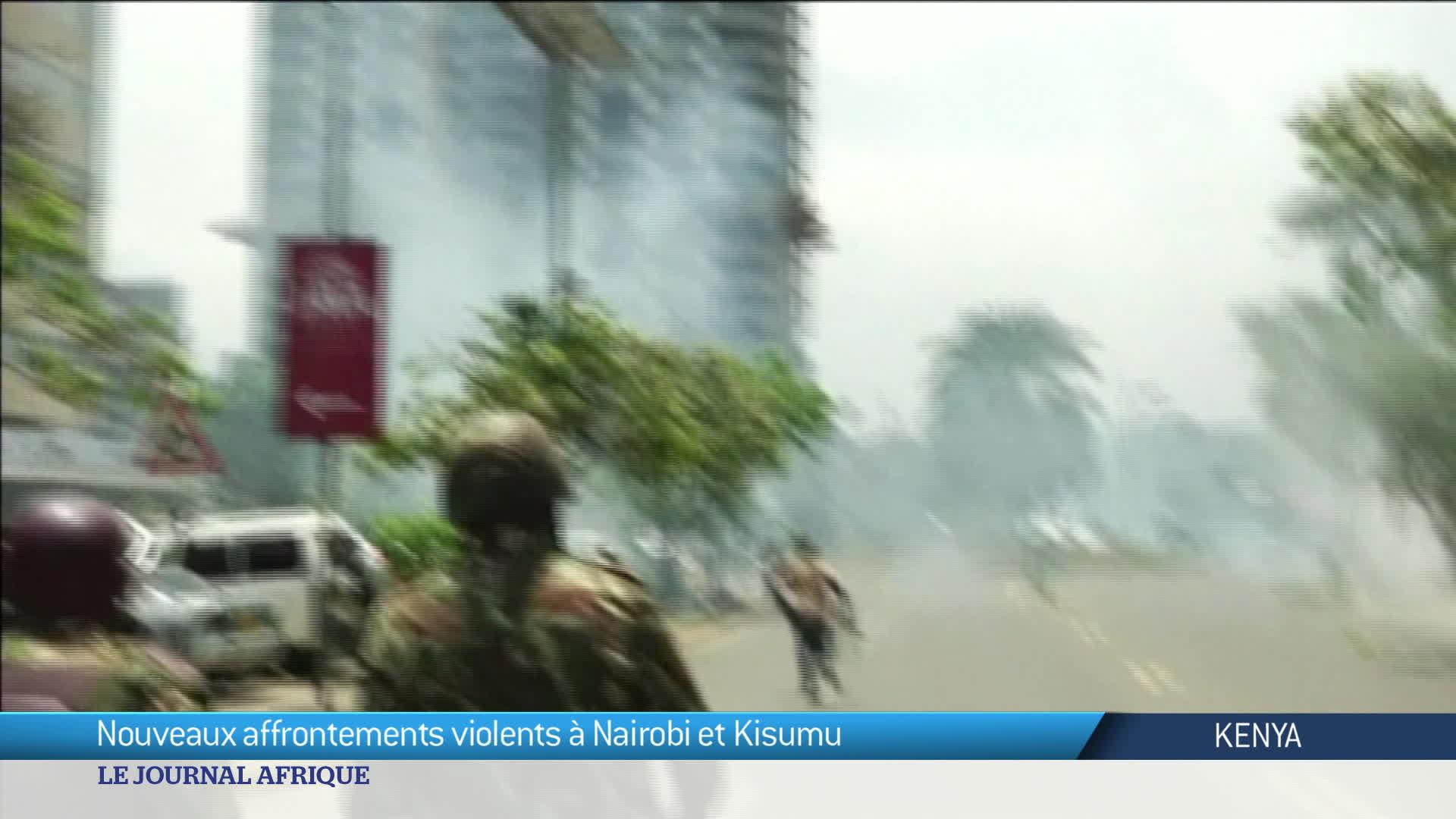 Nouveaux affrontements violents au Kenya