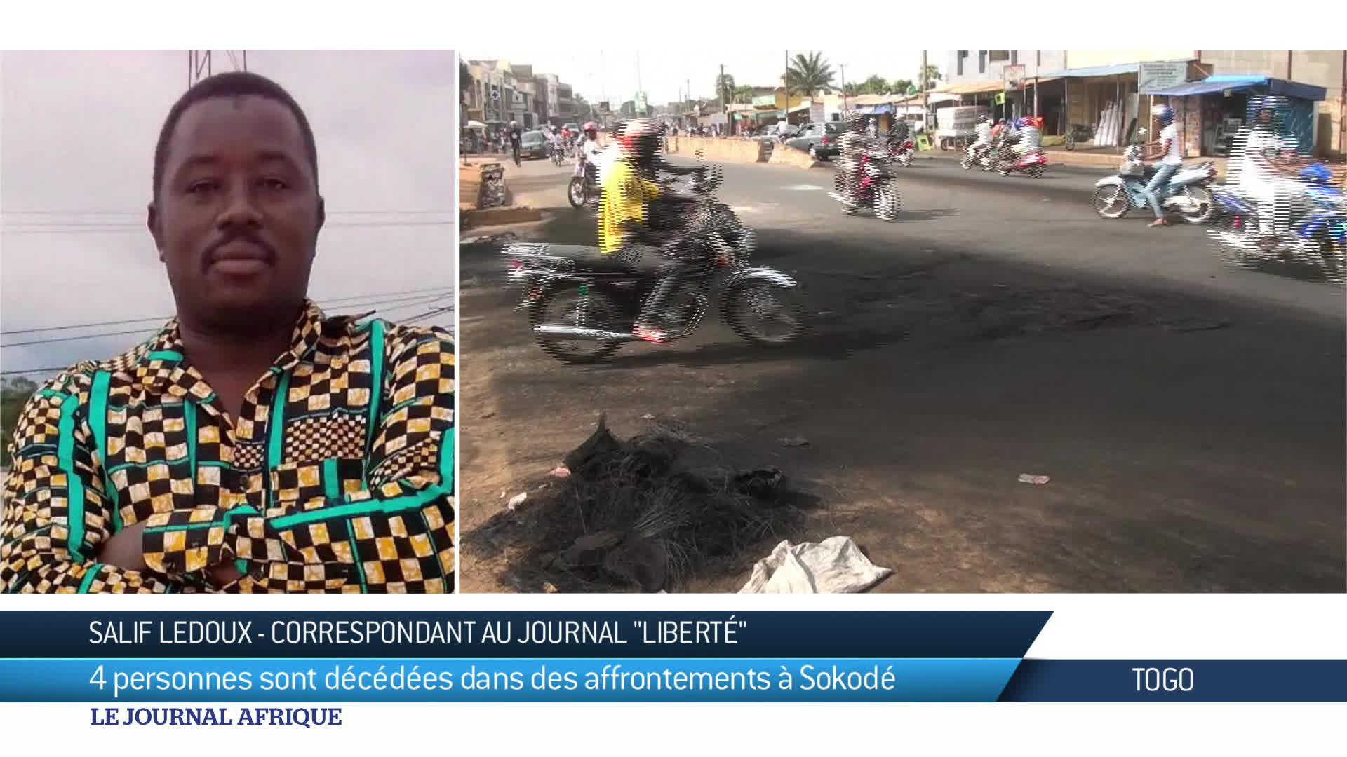Nouveaux affrontements au Togo