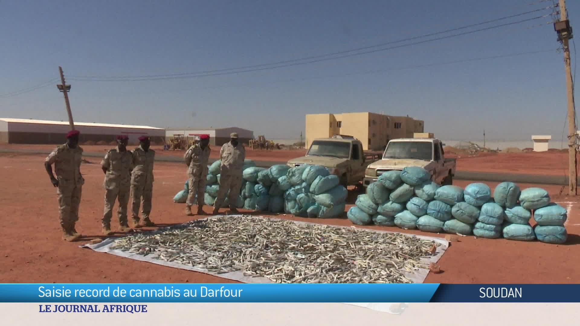 Soudan : l'une des plus importantes prises de drogue