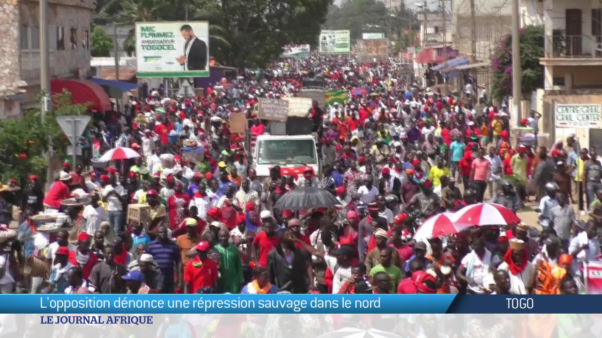 Togo : l'opposition maintient la pression