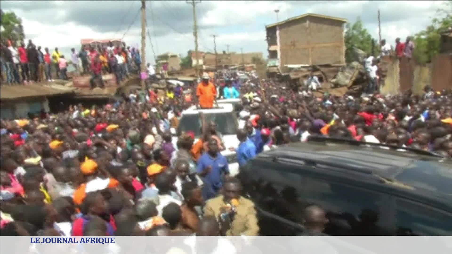 "Kenya : ""le Kenya se dirige vers une dictature"" avertit Raila Odinga Titres :"