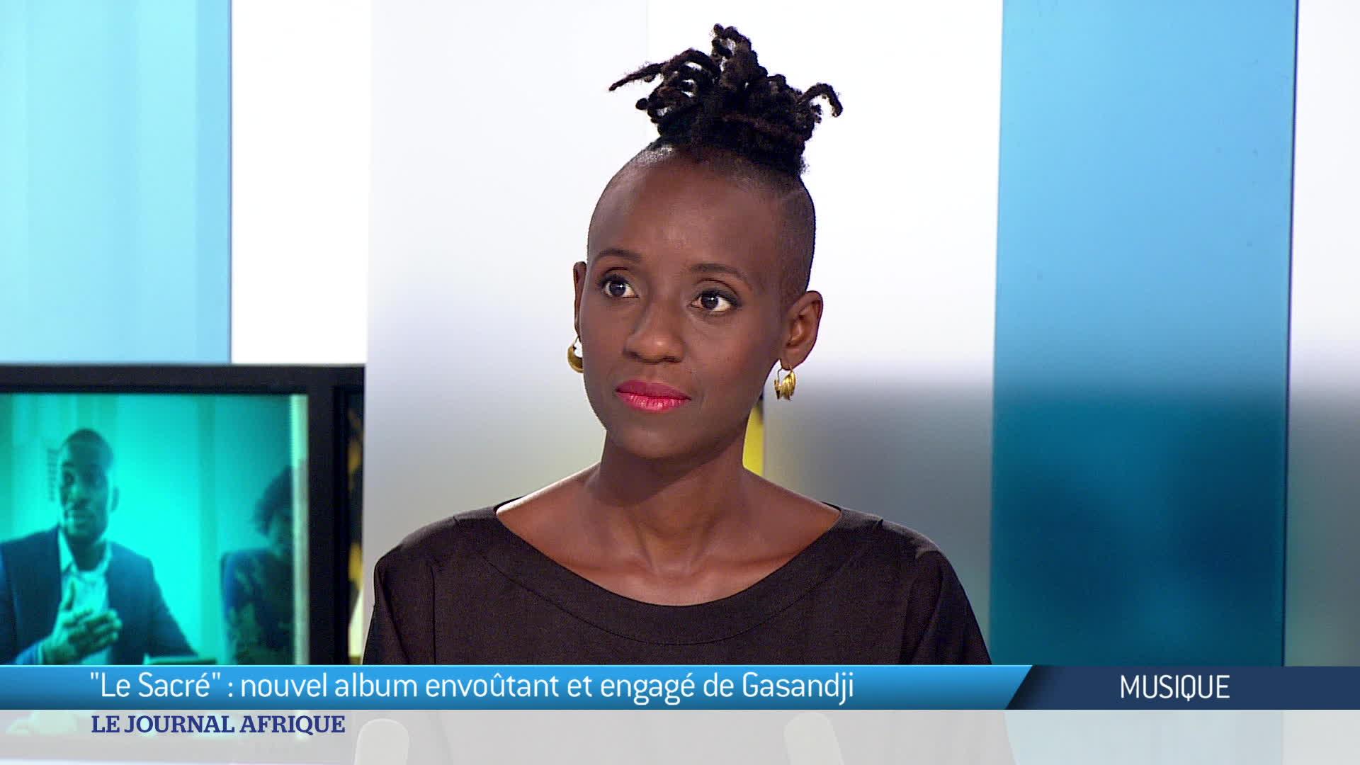 Musique : La chanteuse Gasandji