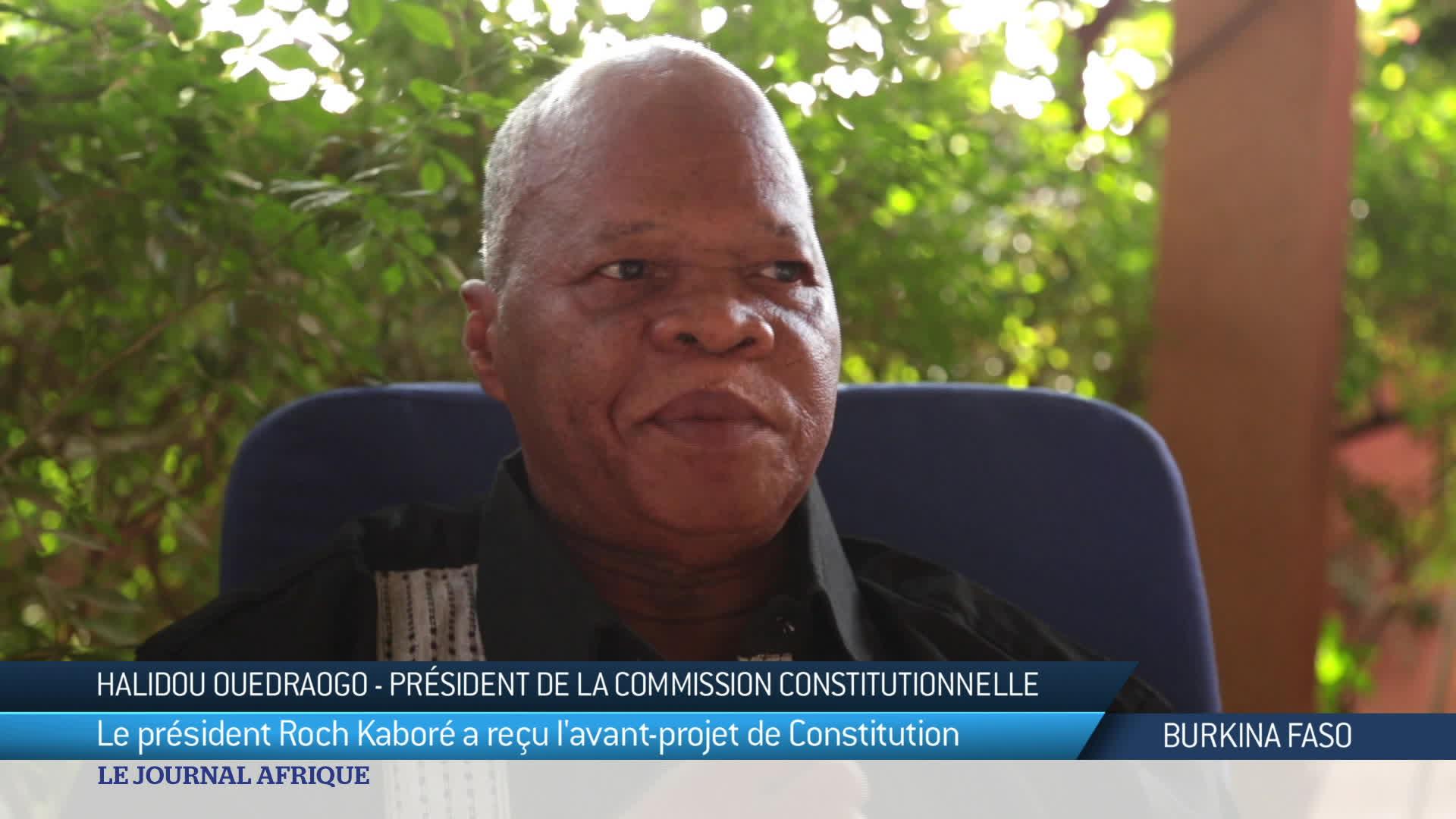 Le projet de future constitution au Burkina