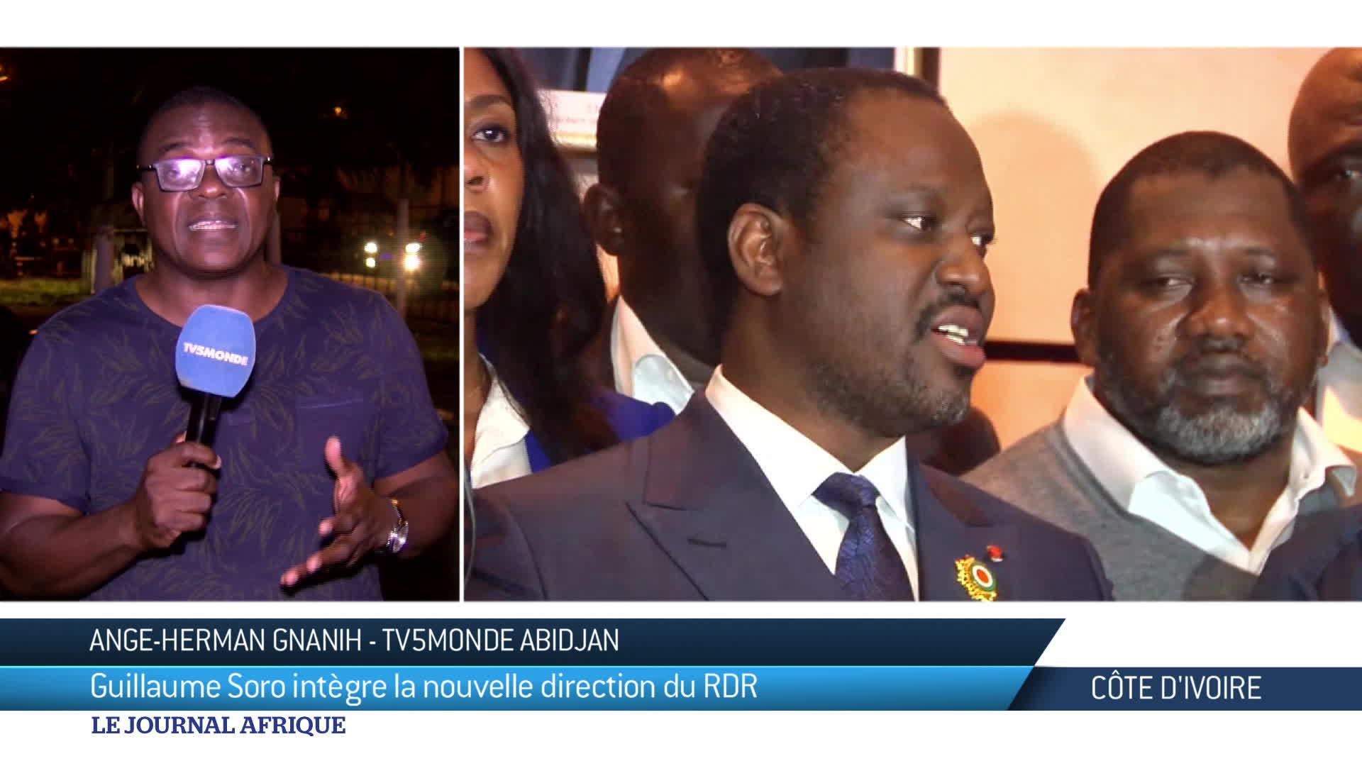 CDI : Guillaume Soro est de retour au sein de la direction du RDR