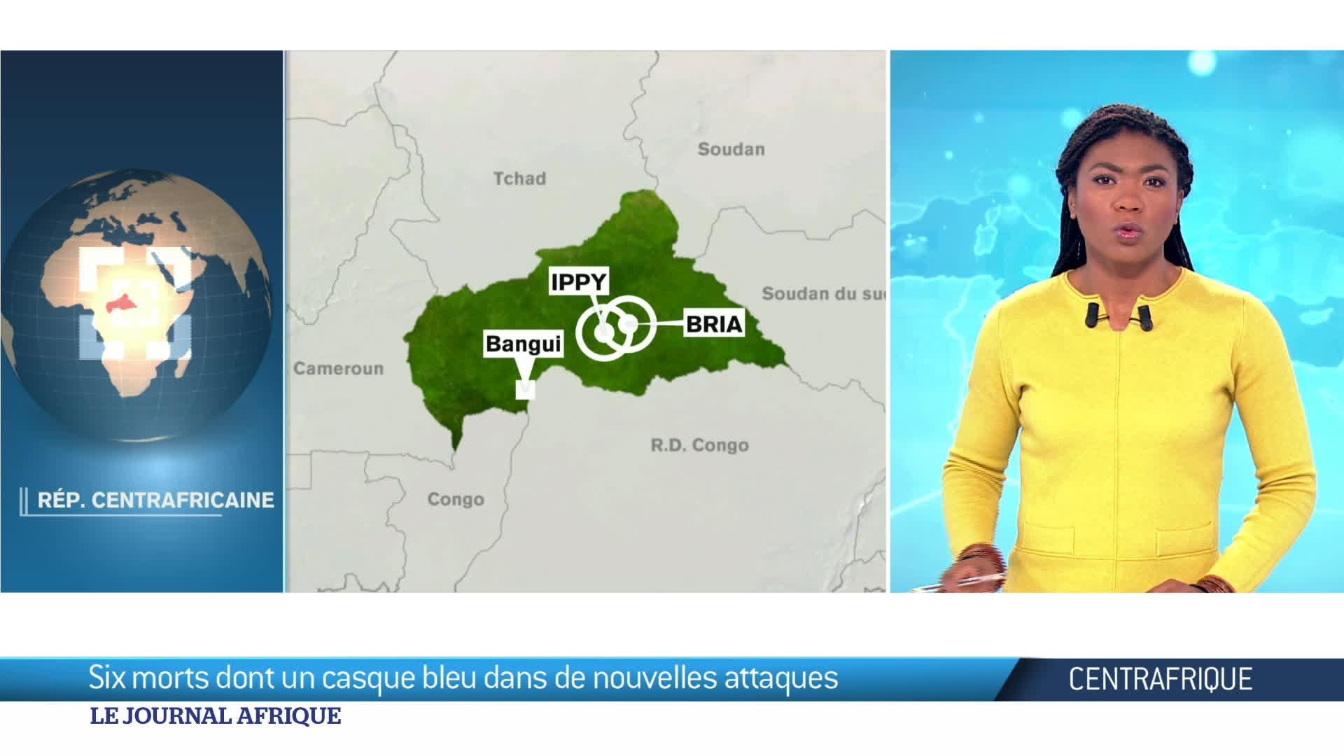 Centrafrique : 5 morts dans des affrontements entre factions rivales