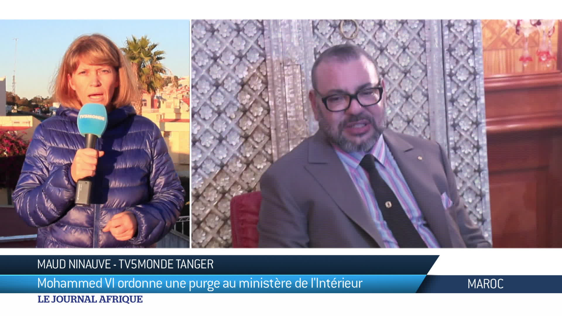 Purge royale au Maroc