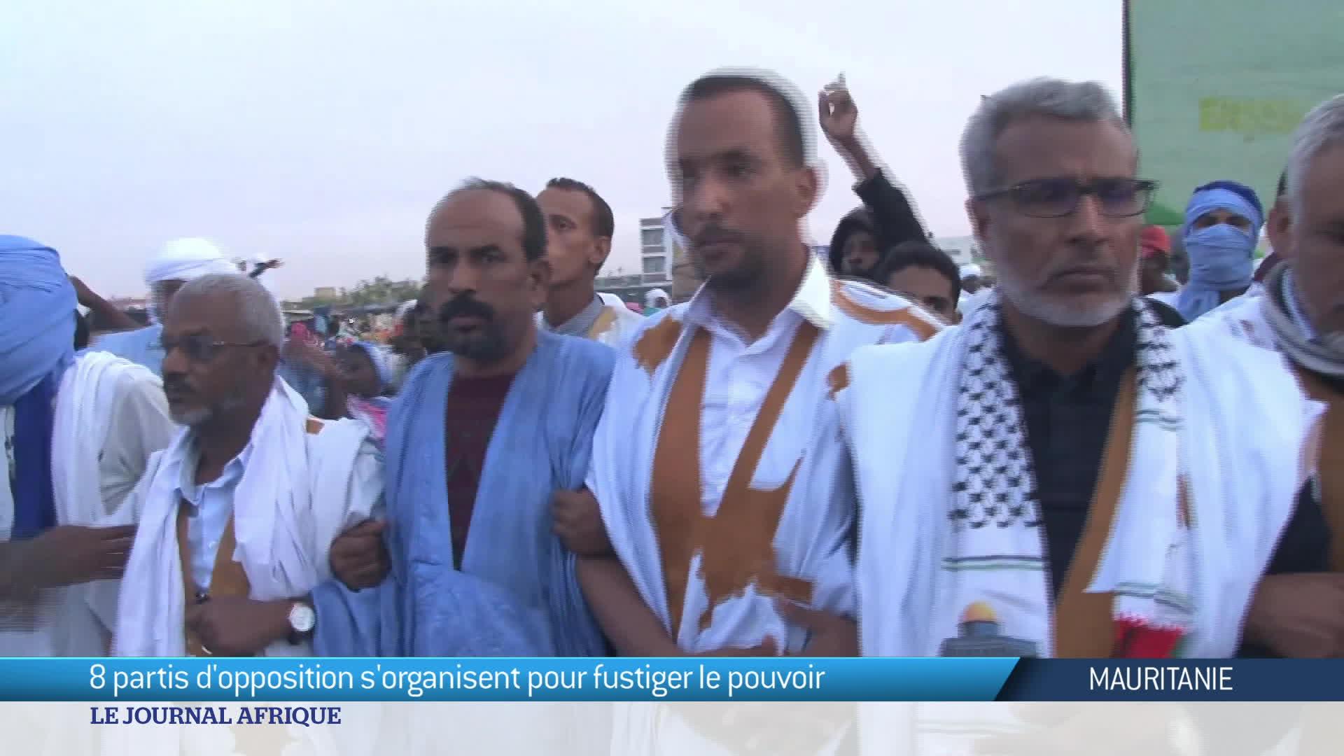 Mauritanie : 8 partis d'opposition s'organisent pour fustiger le pouvoir